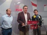 El PSOE pide la dimisión de Valcárcel y de Cámara por haber apoyado al alcalde de Fortuna a pesar de que la Justicia lo condenó