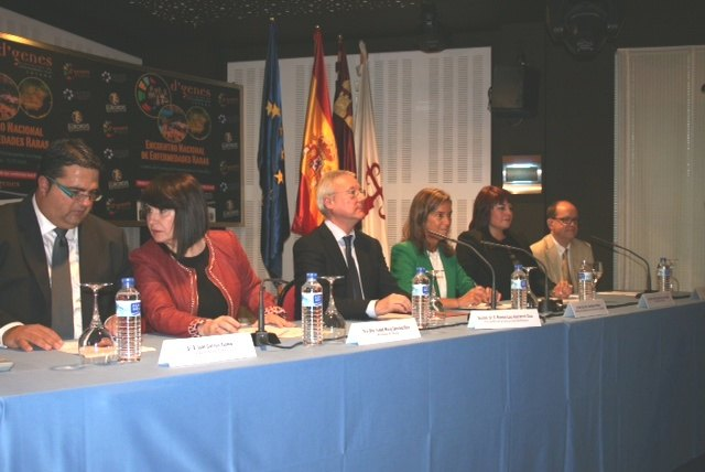 Valcárcel highlights the Government's collaboration with associations of Rare Diseases to advance research, Foto 1