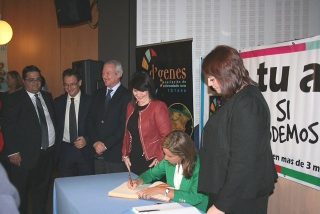 Valcárcel highlights the Government's collaboration with associations of Rare Diseases to advance research, Foto 2