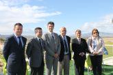 El alcalde de Alhama habla del potencial tur�stico de Alhama de Murcia aprovechando la inauguraci�n de la Casa Club de Alhama Signature Golf