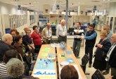 Más de 150 vecinos de La Aljorra visitan SABIC para conocer sus últimas novedades
