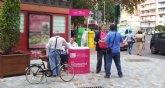 UPyD Cartagena instala una mesa informativa en el centro de la ciudad para cerrar las actividades de octubre