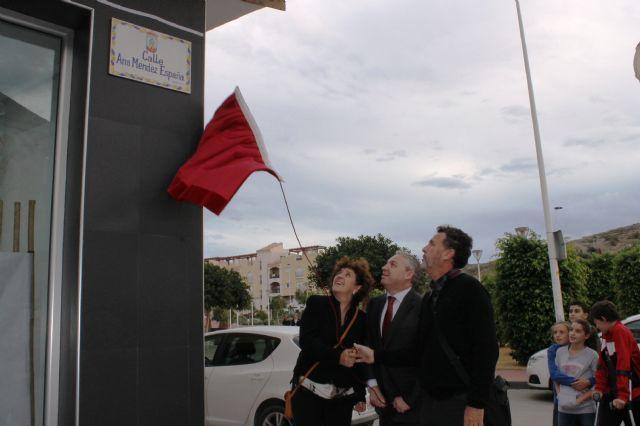 Nueva calle en Puerto de Mazarrón en homenaje a Ana Méndez España - 1, Foto 1