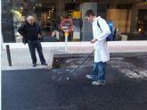El asfalto sostenible y anticontaminante llega a Murcia