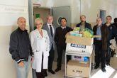 Juguetes solidarios para el aula hospitalaria del Hospital Materno Infantil 'Virgen de la Arrixaca'