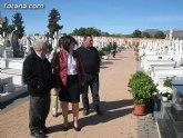 El ayuntamiento pone a punto el cementerio municipal 'Nuestra Sra. del Carmen' para la celebración del Día de Todos los Santos