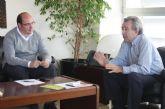 El Alcalde se reúne con el consejero de Agricultura y Agua y con el consejero de Obras Públicas y Ordenación del Territorio
