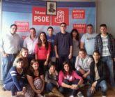 Juventudes socialistas de Totana eligen como nuevo secretario general a víctor balsas cánovas