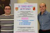 El domingo se celebra el IV torneo mixto de petanca que organiza la Federaci�n Murciana