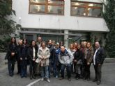 Profesores y alumnos de la Escuela Oficial de Idiomas participan en Praga en un programa europeo sobre enseñanza de idiomas a adultos