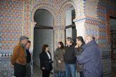 Los técnicos de la Dirección General de Patrimonio dan el visto bueno a las obras de conservación del Palacete Fuente Higuera