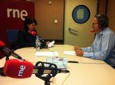 RNE realiza una entrevista a la alcaldesa de Totana para promocionar el Yacimiento Argárico de 'La Bastida'