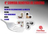 Cáritas celebrará su tradicional comida benéfica