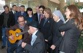 Palacios destaca la importante labor de los mayores para cohesionar y unir a las familias