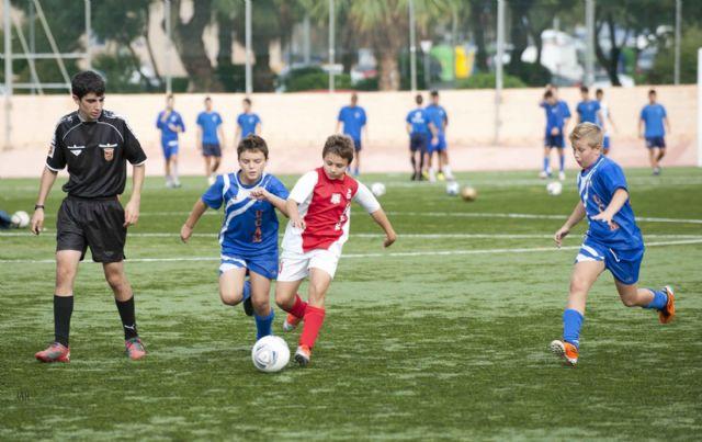 Publicados los horarios de la III jornada de la Liga Local de Fútbol Base - 1, Foto 1