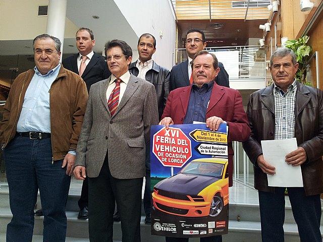 La Feria del Vehículo de Ocasión de Lorca ofrecerá más de 400 automóviles a precios entre los 8.000 y los 14.000 euros - 1, Foto 1