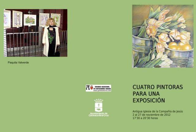 La Compañía acoge la muestra colectiva Cuatro pintoras para una exposición - 1, Foto 1
