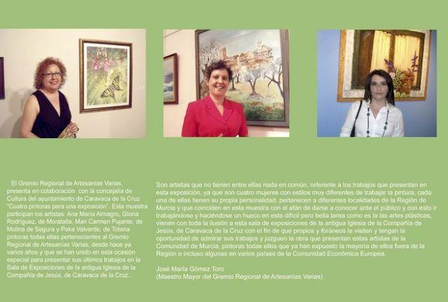 La Compañía acoge la muestra colectiva Cuatro pintoras para una exposición - 2, Foto 2