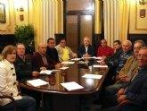El Alcalde y el Concejal de Pedanías, se reúnen con todos los Alcaldes Pedáneos