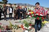 El PSOE en la ofrenda a los Caídos el Día de Todos los Santos