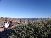 La segunda ruta de Senderismo organizada por la concejalía de Deportes congrega a 25 participantes