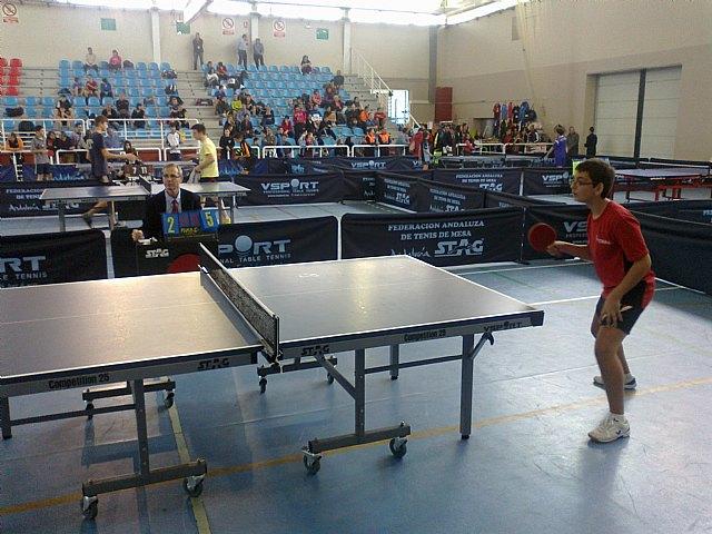 Tenis de mesa. Torneo zonal en Huetor Vega, Foto 3