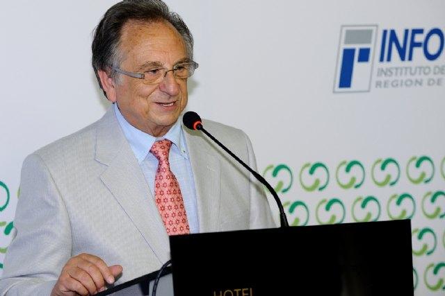 Tomás Fuertes, nombrado presidente de honor de la Asociación Murciana de la Empresa Familiar, Foto 1