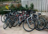 La Guardia Civil detiene a tres jóvenes por sustraer bicicletas en una urbanización