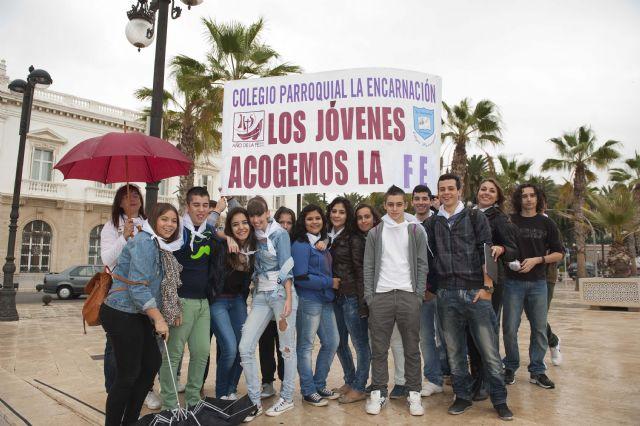 Jóvenes de toda la Región llenan Cartagena de esperanza - 2, Foto 2