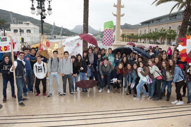 Jóvenes de toda la Región llenan Cartagena de esperanza - 5, Foto 5