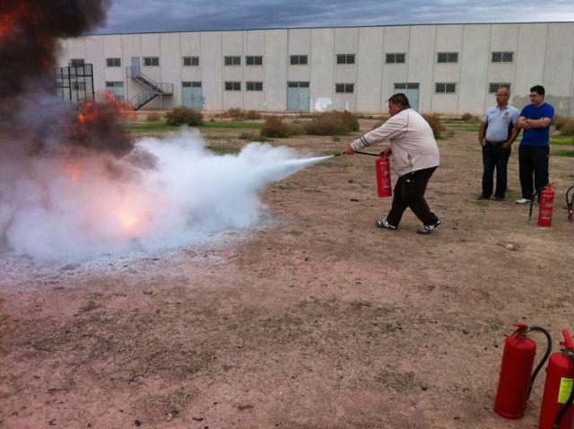 Contin�a el curso de Prevenci�n de Riesgos Laborales en el sector de la Agricultura, Foto 1