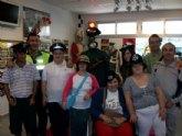 Los alumnos del Centro de D�a de discapacidad intelectual Jos� Moya Trilla visitan el Museo de la Polic�a Local