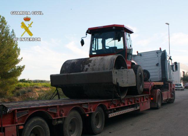 La Guardia Civil desmantela un nuevo grupo delictivo dedicado a la sustracción de maquinaria pesada - 1, Foto 1