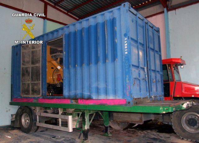 La Guardia Civil desmantela un nuevo grupo delictivo dedicado a la sustracción de maquinaria pesada - 4, Foto 4