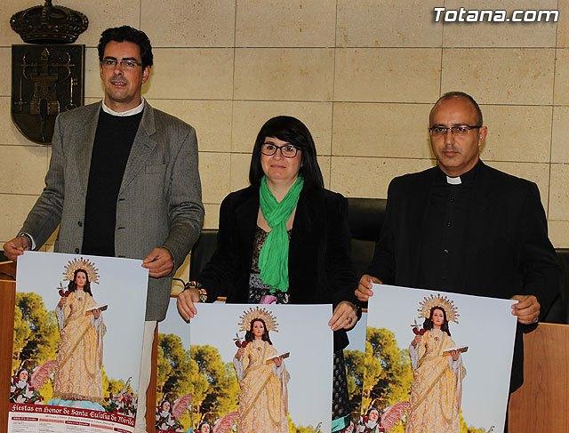 El programa religioso de las fiestas patronales de Santa Eulalia 2012 reunir� a dos hijos adoptivos, Foto 4