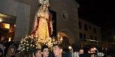 Cientos de ciezanos arropan la primera Procesión Solemne de Santa María, Reina y Madre de Misericordia