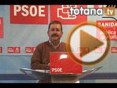 El secretario general de los socialistas presenta públicamente el ciclo de conferencias y debate Aporta