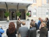 Más visitas teatralizadas para conmemorar el 150 aniversario del Teatro Romea de Murcia