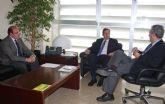 Reunión con el Secretario de Estado de Medio Ambiente para solicitar inversiones destinadas a las Redes de Regadío de Puerto Lumbreras