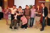 El PSOE de Totana acompaña a PADISITO en su comida anual
