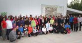 El Club de Senderismo Andaya de Puerto Lumbreras celebró una convivencia con más de 100 senderistas en el Cabezo la Jara