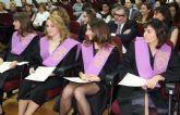 Acto de imposición de Becas y entrega de Diplomas Acreditativos a la II Promoción del Master Oficial UCAM en Psicología de la Salud y Práctica Clínica