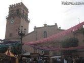 El Mercado Medieval abre hoy el programa de actividades organizadas con motivo de las fiestas patronales de Santa Eulalia´2012