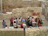Los mayores visitan el Barrio del Foro Romano