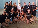 El Club Natación Master Murcia realiza uno de sus entrenamientos en las instalaciones de Move en Totana