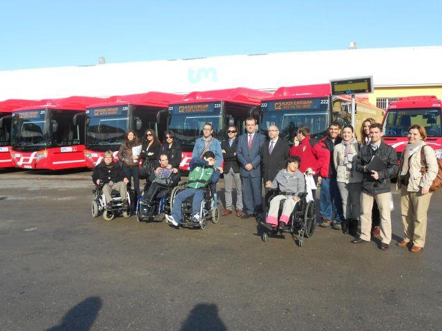 Los autobuses 'coloraos' recorrerán a partir de mañana la Murcia urbana - 1, Foto 1