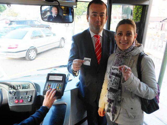 Los autobuses 'coloraos' recorrerán a partir de mañana la Murcia urbana - 2, Foto 2