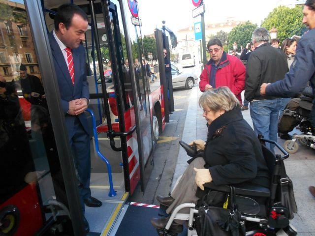 Los autobuses 'coloraos' recorrerán a partir de mañana la Murcia urbana - 3, Foto 3