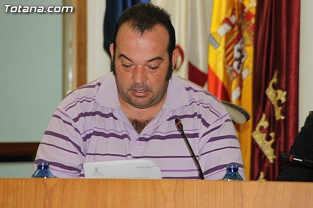 El Concejal del PP local, Diego Muñoz Munuera, en una foto de archivo / Totana.com, Foto 1