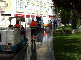 La concejalía de Servicios a la Ciudad realiza un plan de choque de limpieza de cara a las fiestas patronales de Santa Eulalia